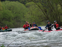 Looking for adventure? Join us for a day of rafting!